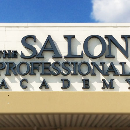 The Salon Professional Academy Channel Letter Sign Georgetown, Texas