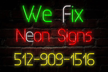 We Fix Austin Neon Signs